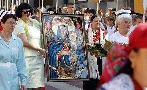 Pielgrzymka kobiet do Piekar Śląskich
